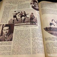 Coleccionismo deportivo: GRAN TOMO CON 1 AÑO DE LAS REVISTAS CAMPEON DE NOVIEMBRE 1932 HASTA DICIEMBREL 1933. DEL NUM.1 AL 61. Lote 168558532