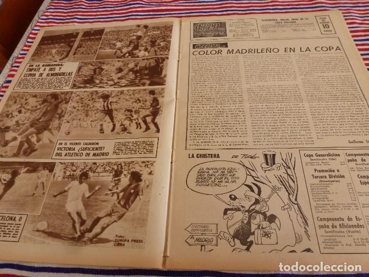 Coleccionismo deportivo: DICEN(23-6-75)AGUSTIN MONTAL VERANEA,CALPISA 16 GRANOLLERS 13 CAMPEONES COPA,MARTI FILOSIA - Foto 2 - 168629612