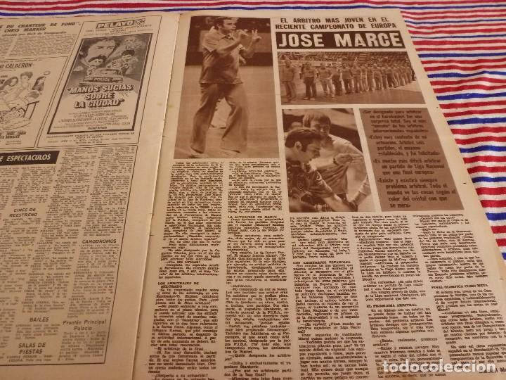 Coleccionismo deportivo: DICEN(23-6-75)AGUSTIN MONTAL VERANEA,CALPISA 16 GRANOLLERS 13 CAMPEONES COPA,MARTI FILOSIA - Foto 7 - 168629612