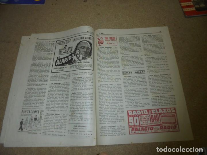 Coleccionismo deportivo: EL ONCE REVISTA SATIRICA DE FUTBOL Nº 169.-1948 EXTRAORDINARIO DEDICADO AL BARCELONA CAMPEON DE LIGA - Foto 4 - 168837668