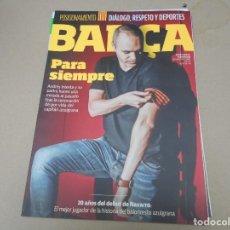 Coleccionismo deportivo: REVISTA FC BARCELONA BARÇA. Lote 168939372