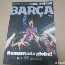 Coleccionismo deportivo: REVISTA FC BARCELONA BARÇA. Lote 168940060