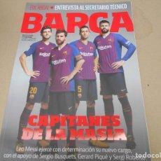 Coleccionismo deportivo: REVISTA FC BARCELONA BARÇA . Lote 168966508