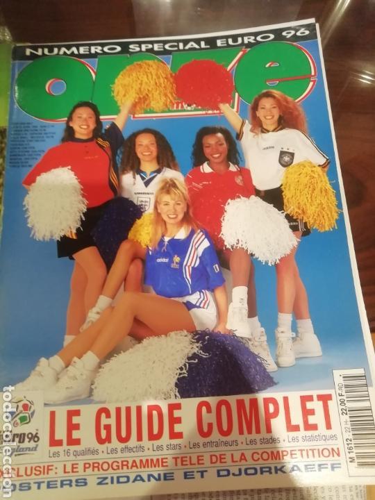REVISTA EUROCOPA 1996 INGLATERRA. ONZE. ESPECIAL. (Coleccionismo Deportivo - Revistas y Periódicos - otros Fútbol)