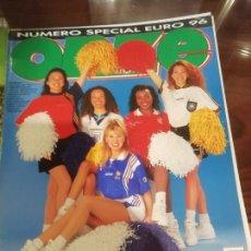 Coleccionismo deportivo: REVISTA EUROCOPA 1996 INGLATERRA. ONZE. ESPECIAL.. Lote 169095864