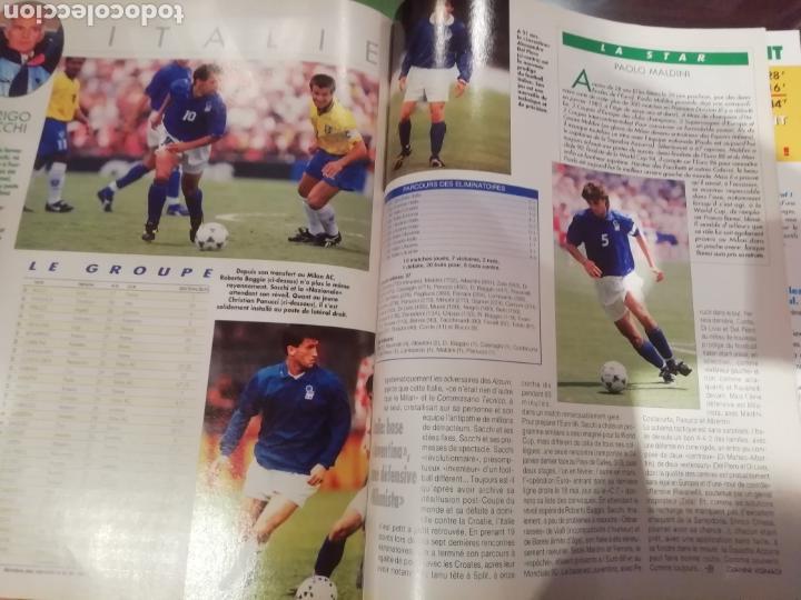Coleccionismo deportivo: Revista Eurocopa 1996 Inglaterra. Onze. ESPECIAL. - Foto 4 - 169095864