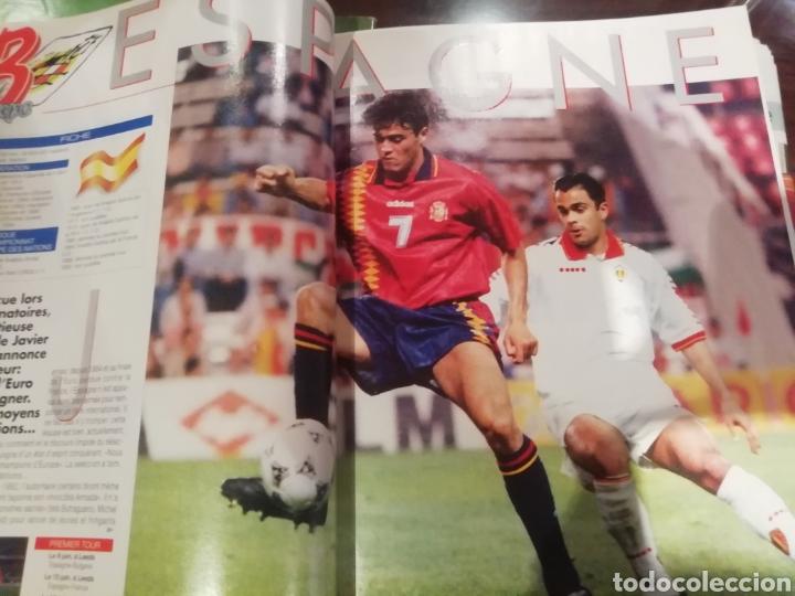 Coleccionismo deportivo: Revista Eurocopa 1996 Inglaterra. Onze. ESPECIAL. - Foto 3 - 169095864