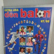 Coleccionismo deportivo: BALÓN EXTRA LIGA 97/98 EXTRA N° 37 - EXCELENTE ESTADO. Lote 169106546