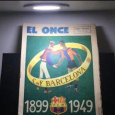 Coleccionismo deportivo: FC BARCELONA REVISTA ESPECIAL BODAS ORO 1899-1949. Lote 169272429