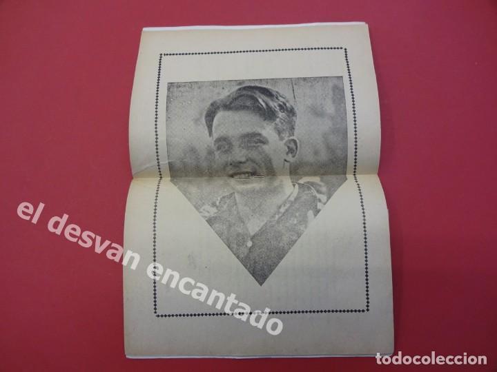 Coleccionismo deportivo: Los ASES Deportivos. SAMITIER. FC BARCELONA. 32 pág. + portadas. 15 x 11 ctms. - Foto 3 - 169287028