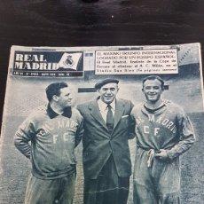 Coleccionismo deportivo: REVISTA OFICIAL REAL MADRID MAYO 1956. Lote 169369738