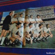 Coleccionismo deportivo: CON PÓSTER, HISTORIA DEL REAL MADRID, SUPLEMENTO DEL ABC. AÑO 1968. 18 PÁGINAS. RARO.. Lote 169414948
