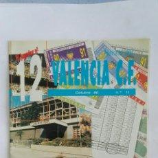 Coleccionismo deportivo: EL JUGADOR N° 12 REVISTA VALENCIA C.F. OCTUBRE 1990. Lote 169706822