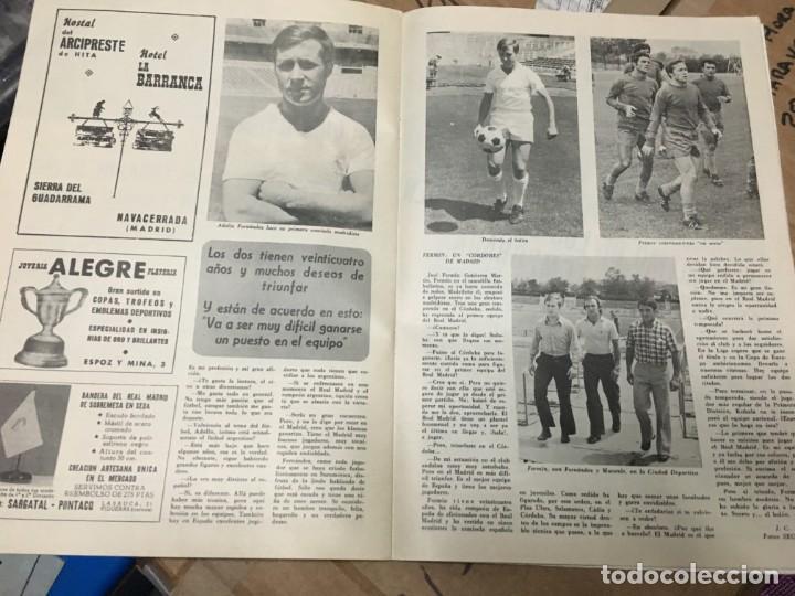 Coleccionismo deportivo: REVISTA OFICIAL REAL MADRID Nº 268 SEPTIEMBRE 1972 MACANAS MIGUEL MUÑOZ - Foto 3 - 183658596