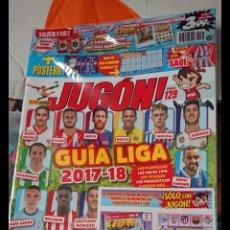 Coleccionismo deportivo: LOTE 23 REVISTAS PRECINTADAS DE FUTBOL JUGON LEER DESCRIPCIÓN GUIA,AGENDA,ADRENALYN,ETC. Lote 170223050