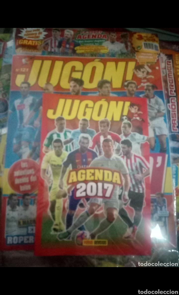 Coleccionismo deportivo: LOTE 23 REVISTAS PRECINTADAS DE FUTBOL JUGON LEER DESCRIPCIÓN GUIA,AGENDA,ADRENALYN,ETC - Foto 2 - 170223050