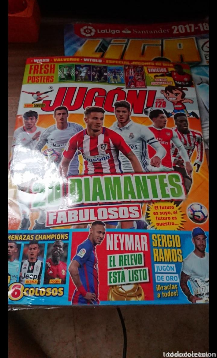 Coleccionismo deportivo: LOTE 23 REVISTAS PRECINTADAS DE FUTBOL JUGON LEER DESCRIPCIÓN GUIA,AGENDA,ADRENALYN,ETC - Foto 3 - 170223050