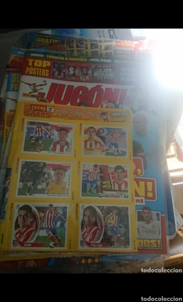Coleccionismo deportivo: LOTE 23 REVISTAS PRECINTADAS DE FUTBOL JUGON LEER DESCRIPCIÓN GUIA,AGENDA,ADRENALYN,ETC - Foto 4 - 170223050