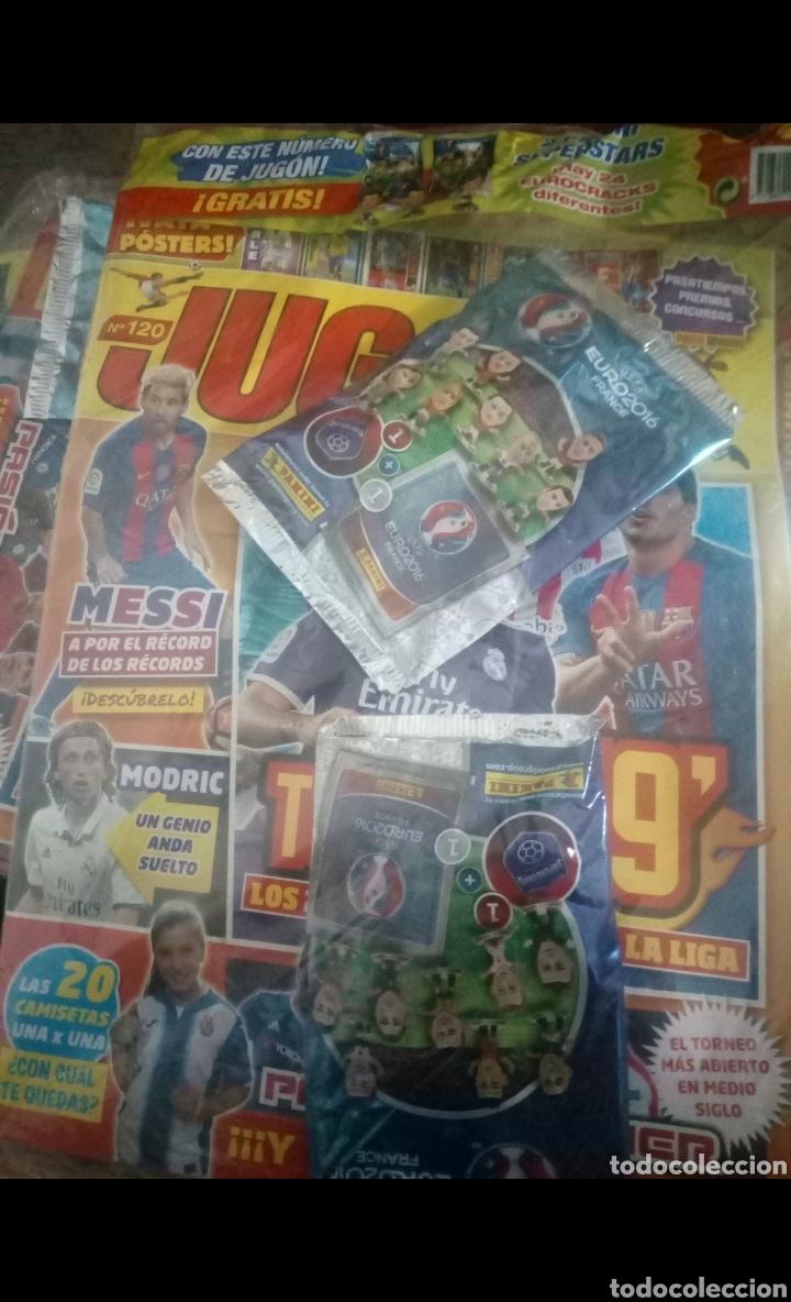 Coleccionismo deportivo: LOTE 23 REVISTAS PRECINTADAS DE FUTBOL JUGON LEER DESCRIPCIÓN GUIA,AGENDA,ADRENALYN,ETC - Foto 5 - 170223050