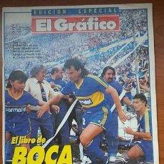 Coleccionismo deportivo: REVISTA EL GRAFICO BOCA JUNIORS CAMPEON APERTURA 1992. Lote 170901055