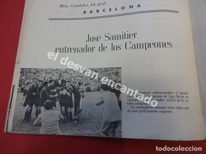 Coleccionismo deportivo: RESUMEN DE LIGA 1944-45. Campeón CF Barcelona. Libreto original - Foto 5 - 170978480