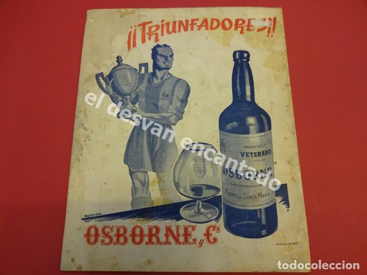 Coleccionismo deportivo: RESUMEN DE LIGA 1944-45. Campeón CF Barcelona. Libreto original - Foto 9 - 170978480