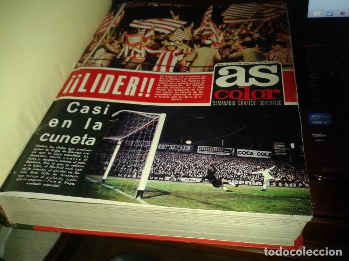 Coleccionismo deportivo: COLECCION AS COLOR ANTIGUA ; COMPLETA CON 557 NUMEROS 1971-1981 - CON POSTERS - Foto 2 - 171020059