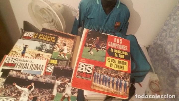Coleccionismo deportivo: COLECCION AS COLOR ANTIGUA ; COMPLETA CON 557 NUMEROS 1971-1981 - CON POSTERS - Foto 9 - 171020059