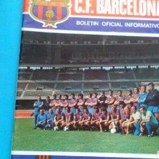 Coleccionismo deportivo: C.F. BARCELONA . BOLETIN OFICIAL INFORMATIVO .N° 32 OCTUBRE 1973. Lote 171053943
