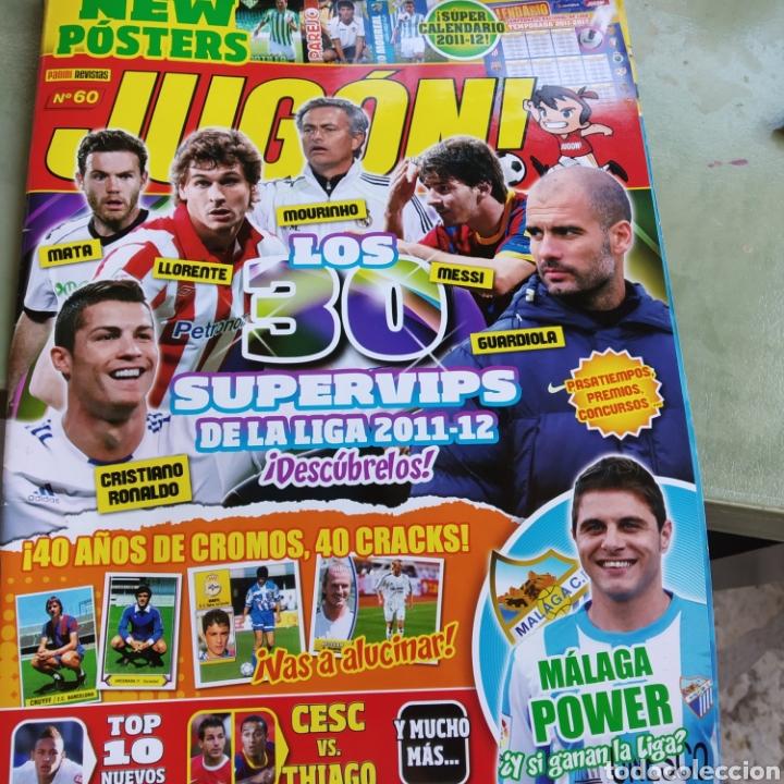 REVISTA PANINI N° 60. VER FOTO. COMPLETA (Coleccionismo Deportivo - Revistas y Periódicos - otros Fútbol)