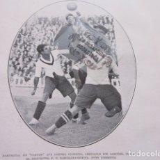 Coleccionismo deportivo: FOTO RECORTE AÑO 1929 - BARCELONA FLORENZA SAMITIER F. C. BARCELONA EUROPA. Lote 171230282