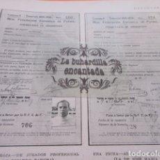 Coleccionismo deportivo: ARTICULO 1929 - COMO SE GOBIERNA EL FUTBOL ESPAÑOS FICHAS DE ZAMORA JOSE MARIA YERMO R.F.E.F. 3 PAG. Lote 171232062
