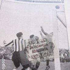 Coleccionismo deportivo: FOTO RECORTE 1929 - REAL SOCIEDAD IZAGUIRRE REAL UNION IRUN URTIZBEREA . Lote 171232368