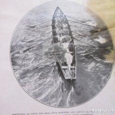 Coleccionismo deportivo: FOTO RECORTE 1929 - BARCELONA CANOA REAL CLUB MARITIMO REGATA NAVIDAD - ESPAÑOL ATHLETIC BILBAO. Lote 171233419
