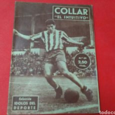 Coleccionismo deportivo: COLLAR .EL INTUITIVO .IDOLOS DEL DEPORTE N° 38 (12X16) 32PP 1958/59. Lote 171267312