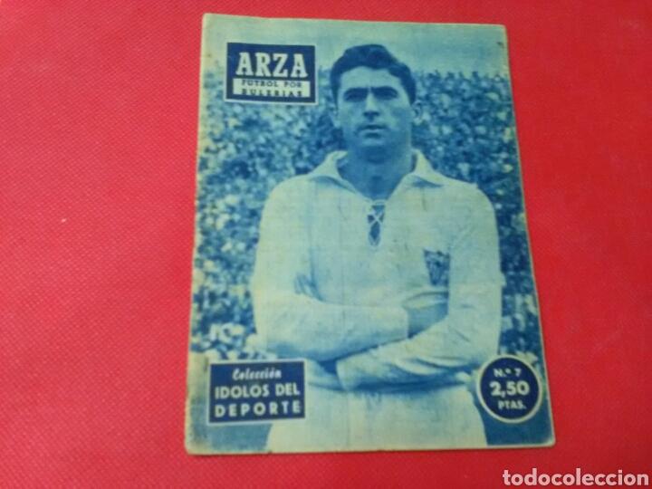 ARZA .FÚTBOL POR BULERÍAS .IDOLOS DEL DEPORTE N° 7 (13X16) 32PP 1958/59 (Coleccionismo Deportivo - Revistas y Periódicos - otros Fútbol)