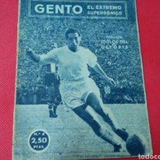 Coleccionismo deportivo: GENTO .EL EXTREMO SUPERSÓNICO .IDOLOS DEL DEPORTE N°4 (13X16) 32PP 1958/59. Lote 171324174