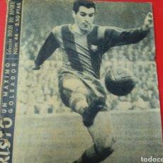Coleccionismo deportivo: EVARISTO .UN MÁXIMO GOLEADOR .IDOLOS DEL DEPORTE N°44 (12X16) 32PP. Lote 171325399