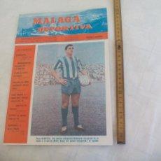 Coleccionismo deportivo: Nº 138 1966 MÁLAGA DEPORTIVA. SEMANARIO DEPORTIVO MALAGUEÑO PEDRO BERRUEZO, IRIBAR MARBELLA, SARRIAS. Lote 171333873