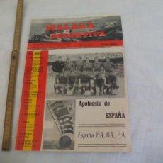 Coleccionismo deportivo: Nº 23 1964 MÁLAGA DEPORTIVA. SEMANARIO DEPORTIVO MALAGUEÑO ESPAÑA CAMPEONA EUROPA, TOKIO OLIMPIADA. Lote 171334548
