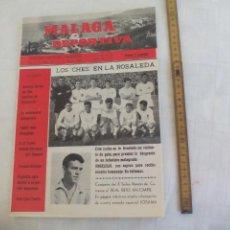 Coleccionismo deportivo: Nº 25 1964 MÁLAGA DEPORTIVA. SEMANARIO DEPORTIVO MALAGUEÑO X TROFEO CARRANZA, BOXEO HEREDIA ZUÑIGA. Lote 171334818