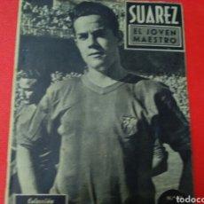 Coleccionismo deportivo: SUÁREZ .EL JOVEN MAESTRO.IDOLOS DEL DEPORTE N° 11 (12X16) 32PP. 1958/59. Lote 171407102