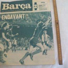Coleccionismo deportivo: REVISTA BARÇA NÚMERO Nº 990, 1974. F.C BARCELONA. BARÇA 3 FEYENOORD 0 REXACH. ENVANT.. Lote 171423985