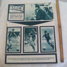 Coleccionismo deportivo: REVISTA BARÇA NÚMERO Nº 516, 1965. PROX.RIVALES D.O.S.UTRECHT Y CÓRDOBA Y BARÇA 1 VALENCIA 2. Lote 171424690