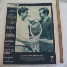 Coleccionismo deportivo: REVISTA BARÇA NÚMERO Nº 494, 1965. SANTANA GALIANA COPA DAVIS, BARÇA 5 MÁLAGA 0. Lote 171424948