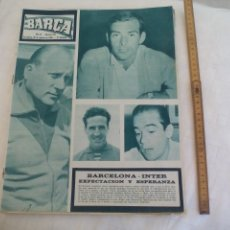 Coleccionismo deportivo: REVISTA BARÇA NÚMERO Nº 510, 1965. . Lote 171425212