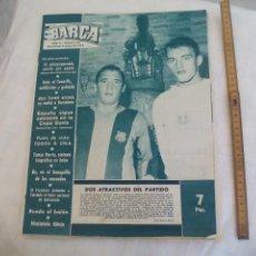 Coleccionismo deportivo: REVISTA BARÇA NÚMERO Nº 441, 1964. F.C. BARCELONA. COPA DAVIS, TOMAS BARRIS. Lote 171425969