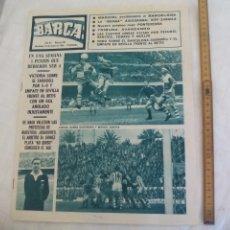 Coleccionismo deportivo: REVISTA BARÇA NÚMERO Nº 530, 1966. F.C. BARCELONA. BETIS 0 BARCELONA 0, BENEGAS COLOMER, PONTEVEDRA. Lote 171426143