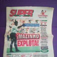 Coleccionismo deportivo: SÚPER DEPORTE MAZINHO EXPLOTA VALENCIA 5 12 1995 PERIÓDICO DEPORTIVO. Lote 171496570