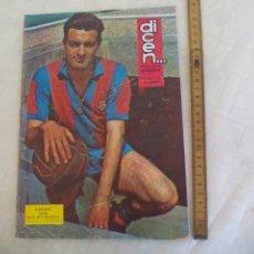 Coleccionismo deportivo: REVISTA DEPORTIVA DICEN. Nº 592, 1964 FUTBOL BARCELONA ESPAÑOL VALENCIA MADRID. VERGES. Lote 171502730